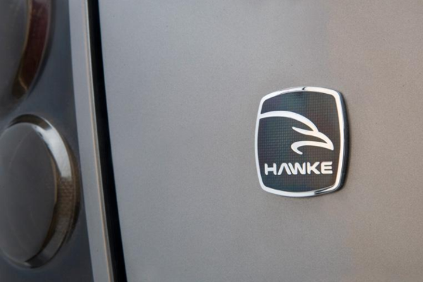 Range Rover Evoque 'HAWKE' Vitreous Enamelled Badge